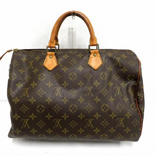 ルイヴィトン Louis Vuitton モノグラム スピーディー35 M41524 ハンドバッグ ★送料無料★【中古】【あす楽】