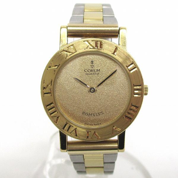 コルム ロムルス K18YG 30 101 56 クォーツ 時計 腕時計 レディース ★送料無料★【中古】【あす楽】