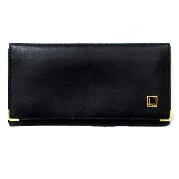 ダンヒル レザー 財布 二つ折り財布 メンズ ★送料無料★【中古】【あす楽】