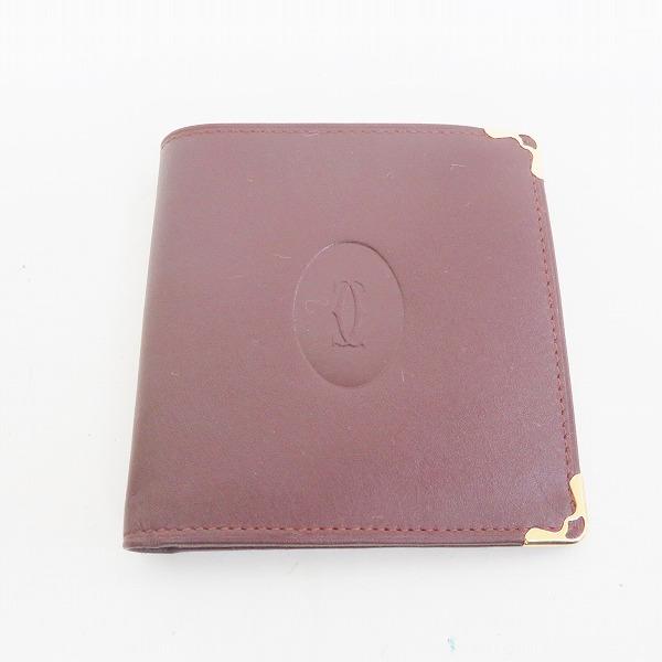 カルティエ Cartier 財布 二つ折り財布 レディース ★送料無料★【中古】【あす楽】