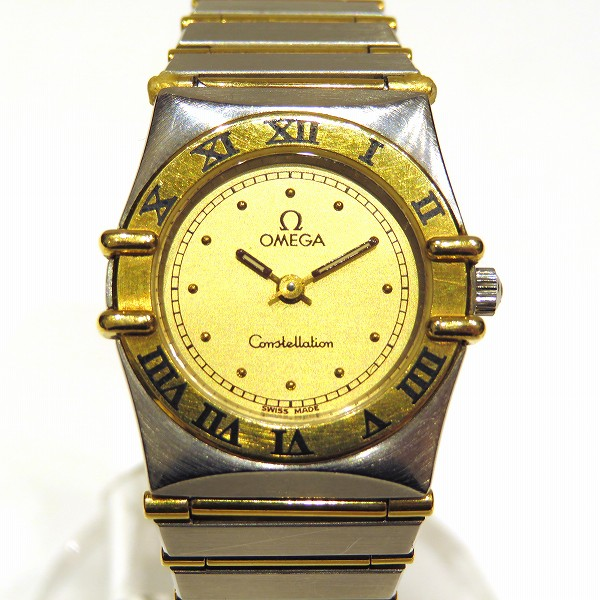 オメガ コンステレーション 1270.10 時計 腕時計 レディース クォーツ ★送料無料★【中古】【あす楽】