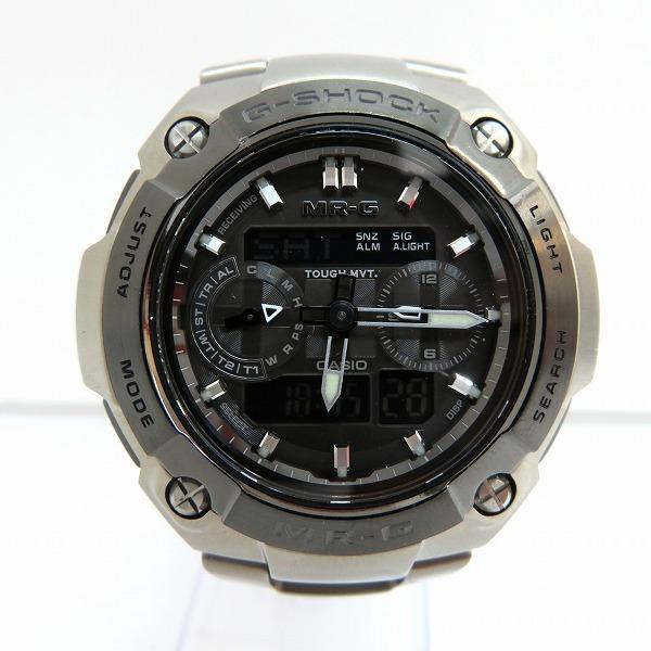 カシオ G-SHOCK MR-G 7600D-1BJF 電波ソーラー時計 腕時計 メンズ ★送料無料★【中古】【あす楽】