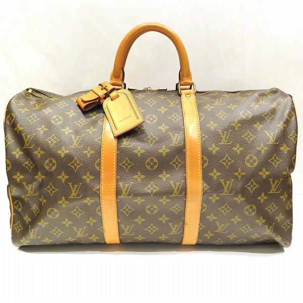ルイヴィトン Louis Vuitton モノグラム キーポル50 M41426 バッグ ボストンバッグ ユニセックス ★送料無料★【中古】【あす楽】