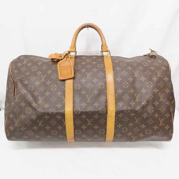 ルイヴィトン Louis Vuitton キーポル55 M41424 モノグラム バッグ ボストンバッグ ユニセックス ★送料無料★【中古】【あす楽】