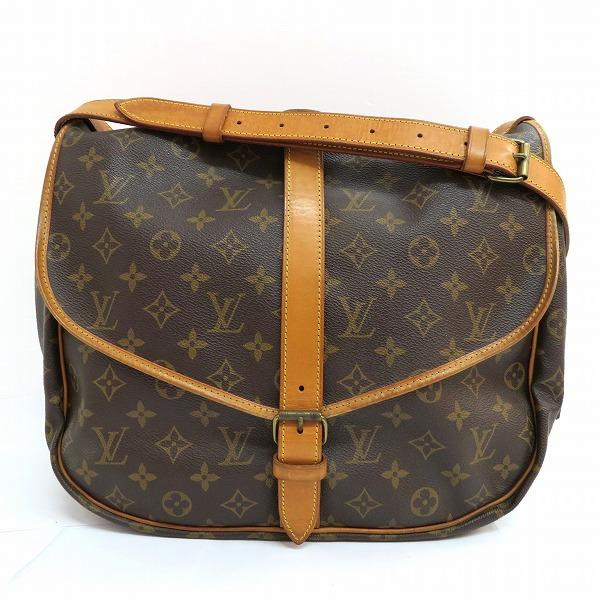 ルイヴィトン Louis Vuitton モノグラムソミュール M42254 バッグ ショルダーバッグ レディース ★送料無料★【中古】【あす楽】