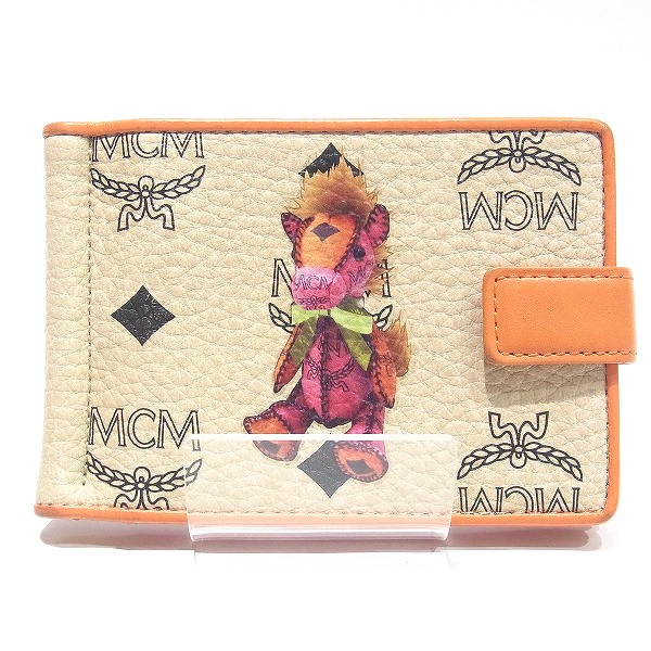 best loved f4d54 07dd8 MCM money clip card case pass case Lady's accessory ★★