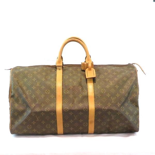 ルイヴィトン Louis Vuitton モノグラム キーポル55 M41424 旅行かばん バッグ ボストンバッグ ユニセックス ★送料無料★【中古】【あす楽】