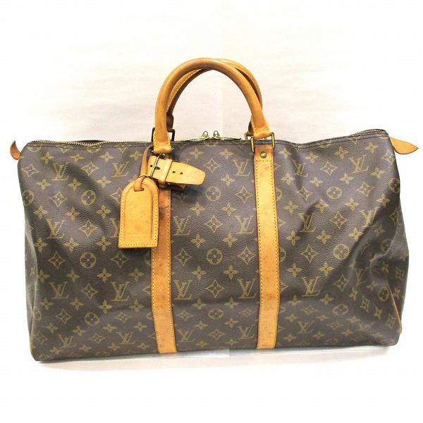 ルイヴィトン Louis Vuitton モノグラムライン キーポル50 M41426 バッグ ボストンバッグ ユニセックス ★送料無料★【中古】【あす楽】