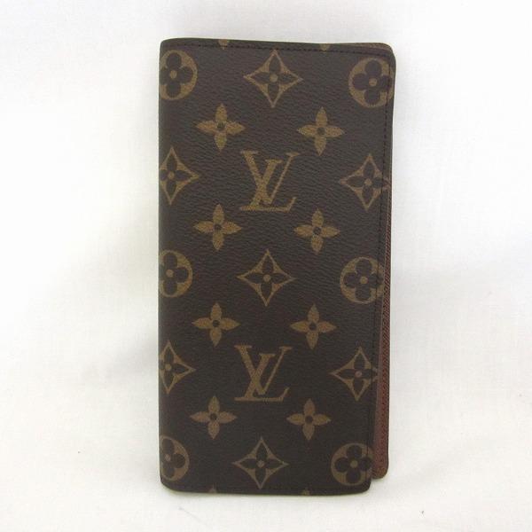 ルイヴィトン Louis Vuitton モノグラム ポルトフォイユ ブラザ M66540 財布 二つ折り財布 ユニセックス ★送料無料★【中古】【あす楽】
