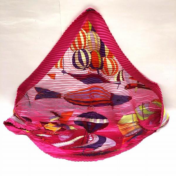 エルメス Hermes プリーツスカーフ ファッション小物 スカーフ レディース ★送料無料★【中古】【あす楽】