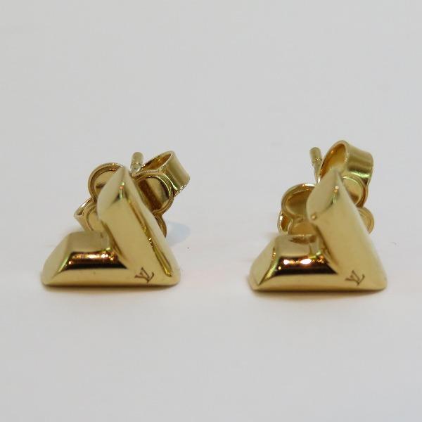 ルイヴィトン Louis Vuitton エセンシャルV M68153 ゴールド ファッション小物 ピアス レディース ★送料無料★【中古】【あす楽】