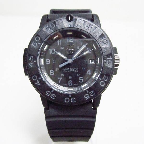 ルミノックス 3000.3900 V3 クォーツ 黒文字盤 時計 腕時計 メンズ ★送料無料★【中古】【あす楽】