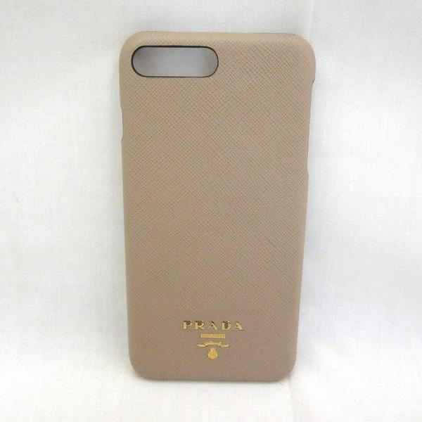 プラダ PRADA iPhoneカバー 1ZH036 ブランド小物 スマホケース レディース ★送料無料★【中古】【あす楽】
