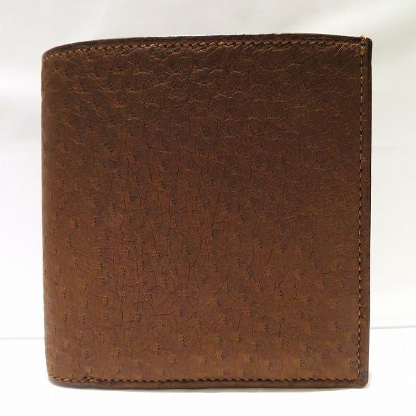 コルボ レザー ブラウン 財布 二つ折り財布 メンズ ★送料無料★【中古】【あす楽】