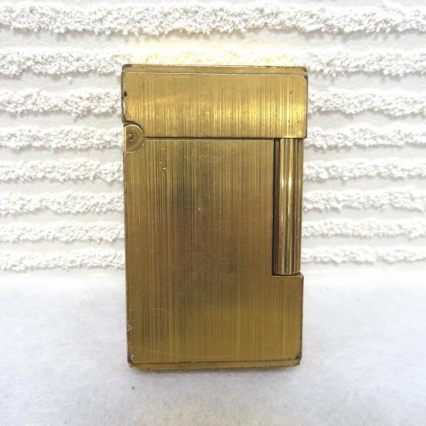 デュポン ゴールドカラー 着火確認済み 喫煙具 ガスライター メンズ 小物 ★送料無料★【中古】【あす楽】
