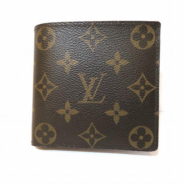 ルイヴィトン Louis Vuitton モノグラム ポルトフォイユマルコ M61665 財布 2つ折り ユニセックス ★送料無料★【中古】【あす楽】