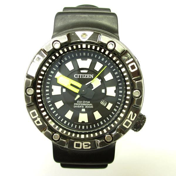 シチズン エコドライブ BN0175-01E プロフェッショナル ダイバーズ 300M 時計 腕時計 メンズ ★送料無料★【中古】【あす楽】