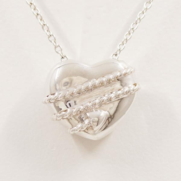 Wonder Price Tiffany Heart Amp Arrow Silver Necklace Metal Used