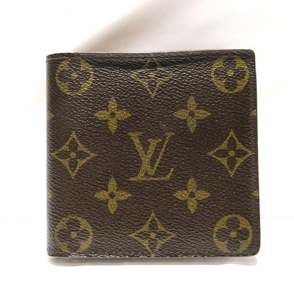 ルイヴィトン Louis Vuitton モノグラム ポルト ビエ カルト クレディ モネ M61665 財布 二つ折り財布 メンズ ★送料無料★【中古】【あす楽】