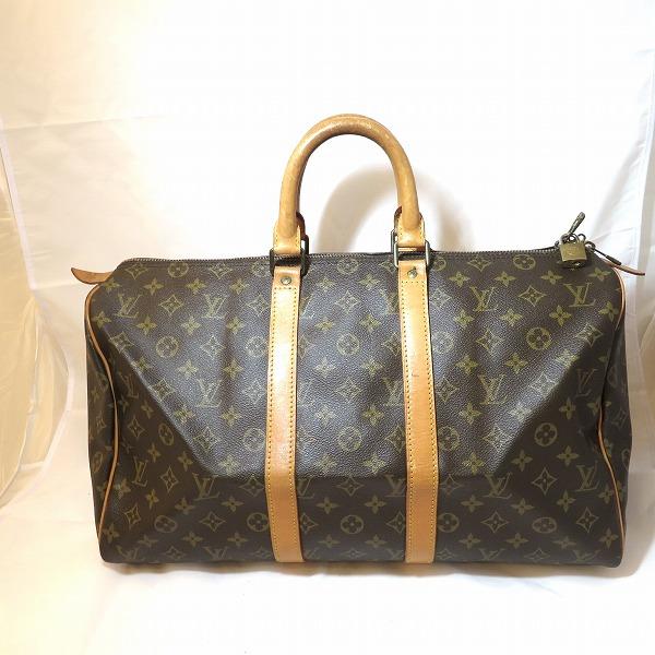 ルイヴィトン Louis Vuitton モノグラム キーポル45 M41428 ボストン バッグ ★送料無料★【中古】【あす楽】