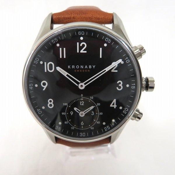 クロナビー アペックス スマートウォッチ A1000-1907 クォーツ 時計 腕時計 メンズ ★送料無料★【中古】【あす楽】