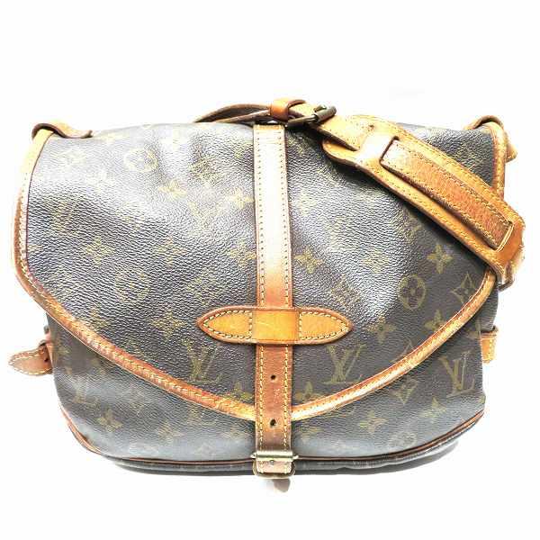 ルイヴィトン Louis Vuitton モノグラムライン ソミュール30 M42256 バッグ ショルダーバッグ ユニセックス ★送料無料★【中古】【あす楽】