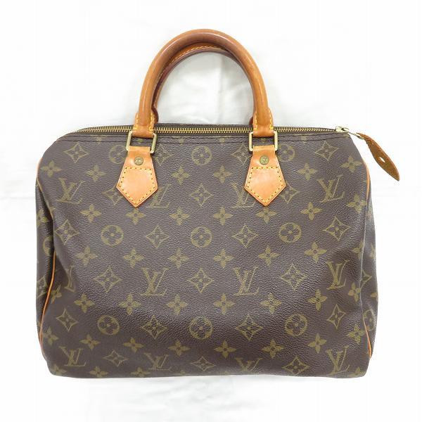 ルイヴィトン Louis Vuitton モノグラム スピーディ30 M41108 バッグ ハンドバッグ ユニセックス ★送料無料★【中古】【あす楽】