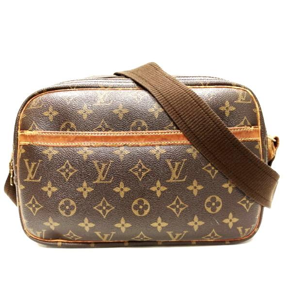 全品本物保証 ブランドアイテム ルイヴィトン 特価 Louis Vuitton モノグラム リポーターPM ショルダーバッグ バッグ 中古 ユニセックス 海外輸入 送料無料 M45254 あす楽