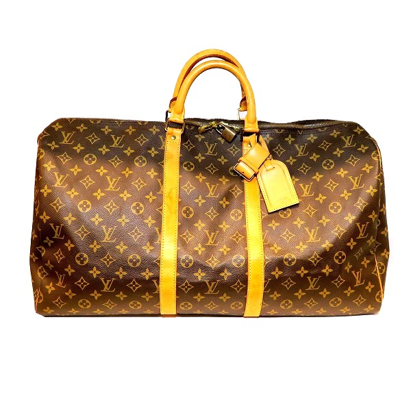 全品本物保証 ブランドアイテム S1 ルイヴィトン Louis Vuitton モノグラム キーポル55 正規認証品 新規格 M41424 ボストンバッグ 送料無料 送料無料でお届けします あす楽 中古 ユニセックス バッグ