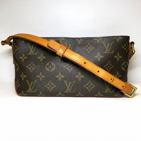 全品本物保証 ブランドアイテム S1 爆買い新作 ルイヴィトン Louis Vuitton モノグラム トロター 評価 ショルダーバッグ 中古 あす楽 レディース M51240 送料無料 バッグ