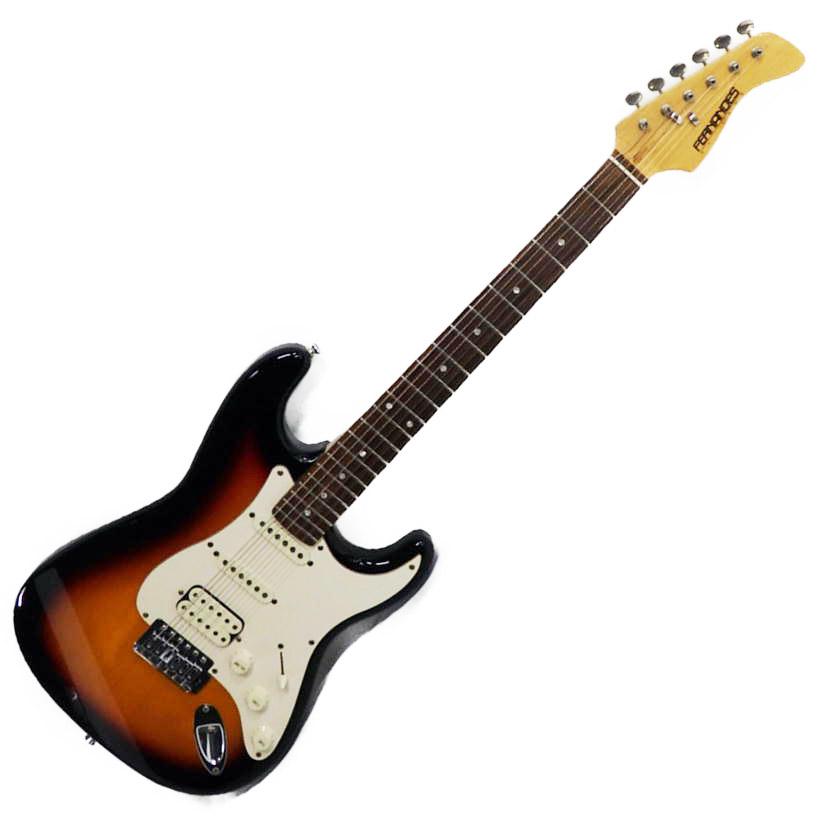 【中古】【LE-1Z】FERNANDES フェルナンデスエレキギター【商品ランク】☆☆☆☆/中古良品/キズやサビ、打痕など使用感はありますが、通常使用において問題なし【中古保証書付き】【81】