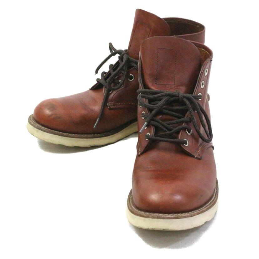【Bランク】【約27cm】 RED WING レッドウィング プレーントゥブーツ 型番:9105 【メンズ】【ブーツ】【中古】【72】