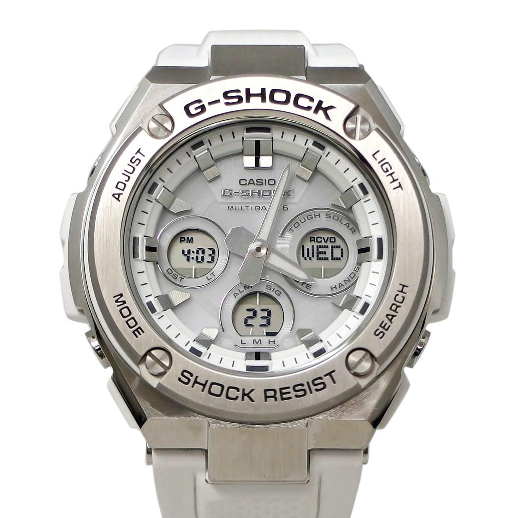 【ABランク】CASIO カシオ G-SHOCK ジーショック Gスチール Ref. GST-W310 電波ソーラー アナデジ文字盤 【安心の6ヶ月保証】【メンズ □】【腕時計】【中古】【78】