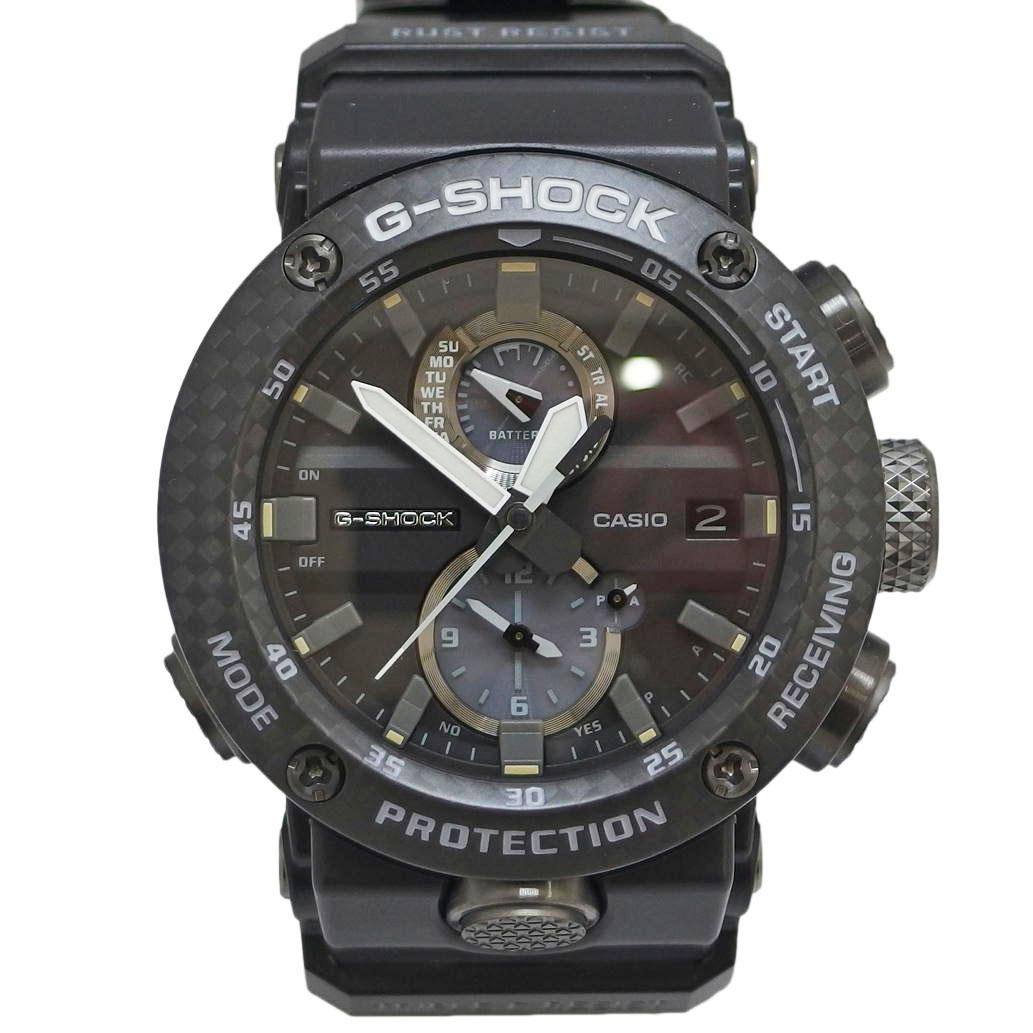 【新品同様】CASIO カシオ G-SHOCK グラビティマスター Bluetooth Ref. GWR-B1000-1AJF 電波ソーラー ブラック/黒文字盤 【安心の1年間保証】【メンズ □】【腕時計】【中古】【SAランク】【82】