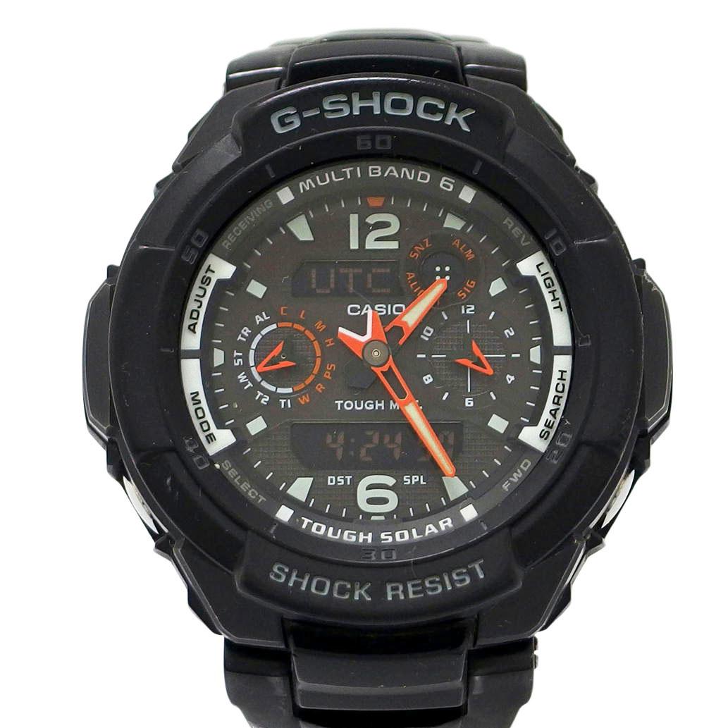 CASIO カシオ G-SHOCK グラビティマスター Ref. GW-3500BD 電波ソーラー アナデジ文字盤 【安心の6ヶ月保証】【メンズ □】【腕時計】【中古】【ABランク】【83】
