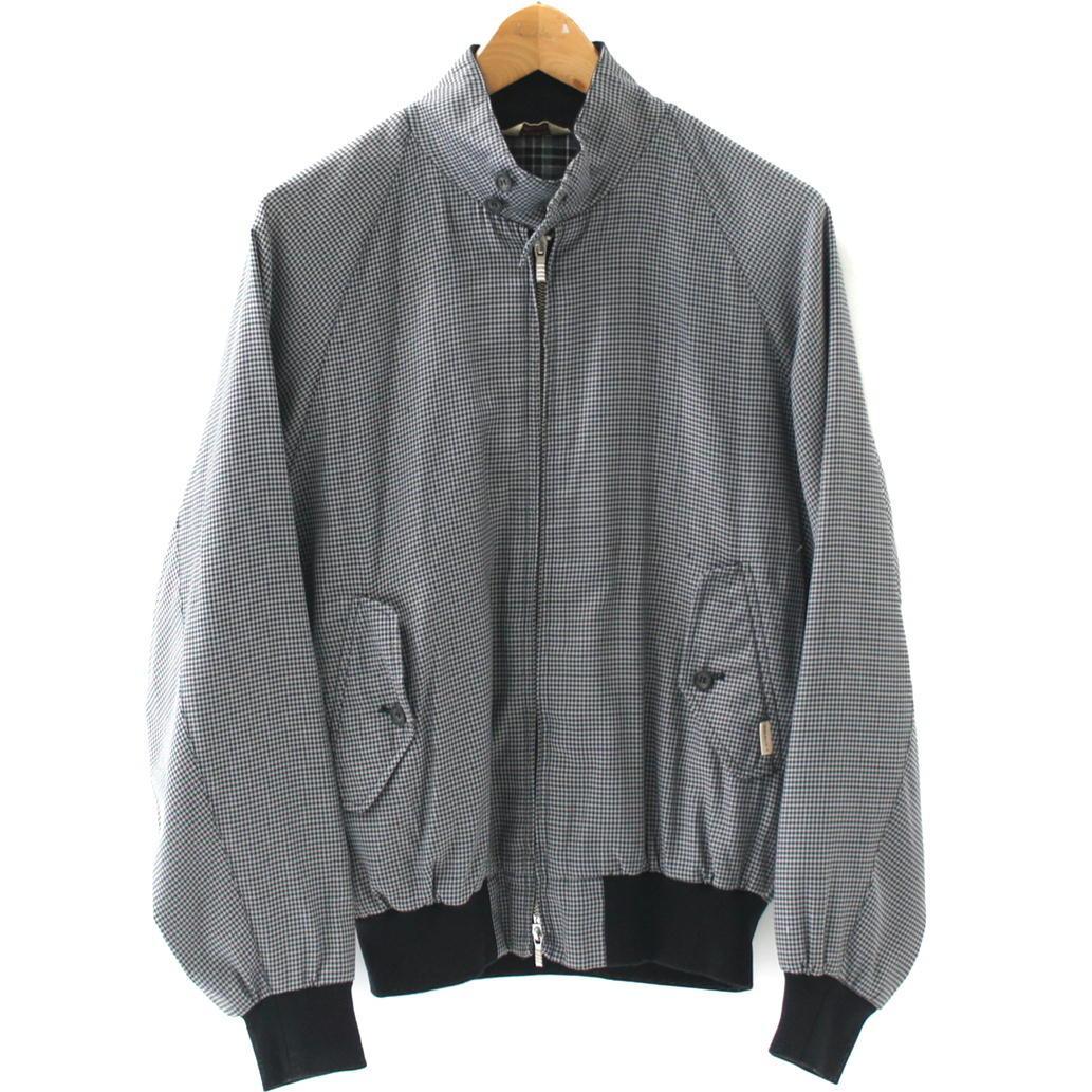 【Bランク】【サイズ:M】BARACUTA バラクータハリントンジャケット スウィングトップ 【メンズ】【アウター】【中古】【75】