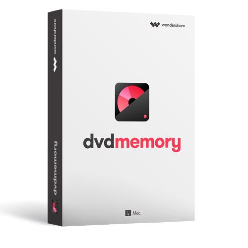 動画を簡単にDVDに作成! Wondershare DVD Memory(Mac版)高品質なDVD、3ステップで作成  Mac用DVD作成ソフト mac dvd 作成 焼く 書き込み 動画 カット 回転 ムービー 編集 結婚式 ウェディング 余興 ビデオ編集 卒業式 新年会)Mac10.15対応 永久ライセンス|ワンダーシェアー