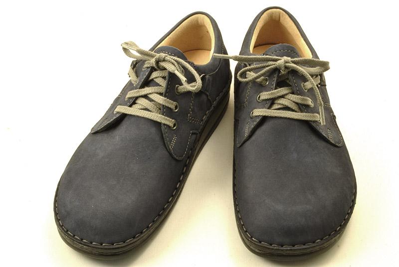 [送料無料] フィンコンフォートの代表的なモデル 丈夫でしっかりと足をサポートする靴がおすすめです。finncomfort(フィンコンフォート) 1000 VASSA(バーサ) 限定色 ネイビーヌバック【smtb-KD】