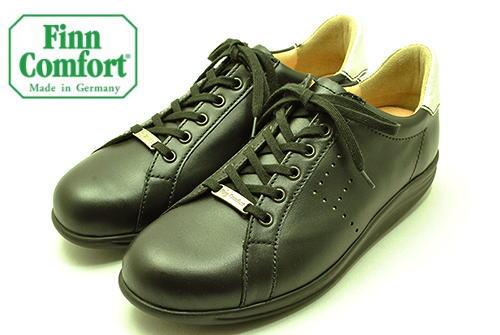 フィンコンフォート finncomfort フィンナミック finnamic 靴 2959 TOKYO 東京 ブラック/シルバープリント 疲れ知らずで歩きやすいローリングシューズ