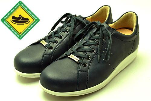 finncomfort フィンコンフォート finnamic フィンナミック 靴 2959 TOKYO 東京 ネイビー 足がどんどん前に出るローリングシューズ
