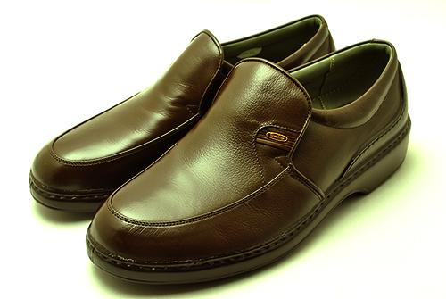 ボンステップ Bonstep 、メンズシューズ 5475 ダークブラウン 大塚製靴 スリッポン ビジネスシューズ【smtb-KD】