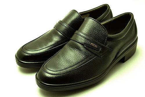 ボンステップ Bonstep 、メンズシューズ 2201 黒 大塚製靴 スリッポン 履きやすい晴雨兼用ビジネスシューズ【smtb-KD】