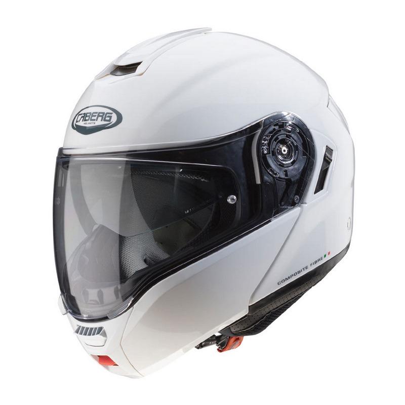 Caberg LEVO 卸直営 Flip Up 卓抜 C0GA00A5 Helmet WHITE METAL