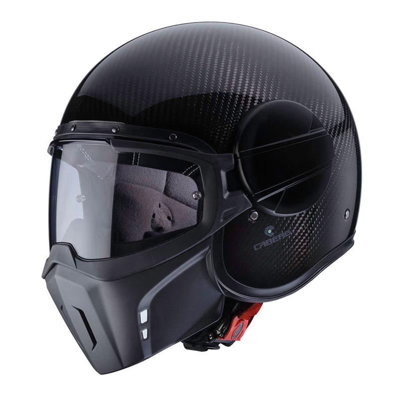 Caberg GHOST JET Open 再再販 Helmet Face クリアランスsale 期間限定 CARBON C4FA0094