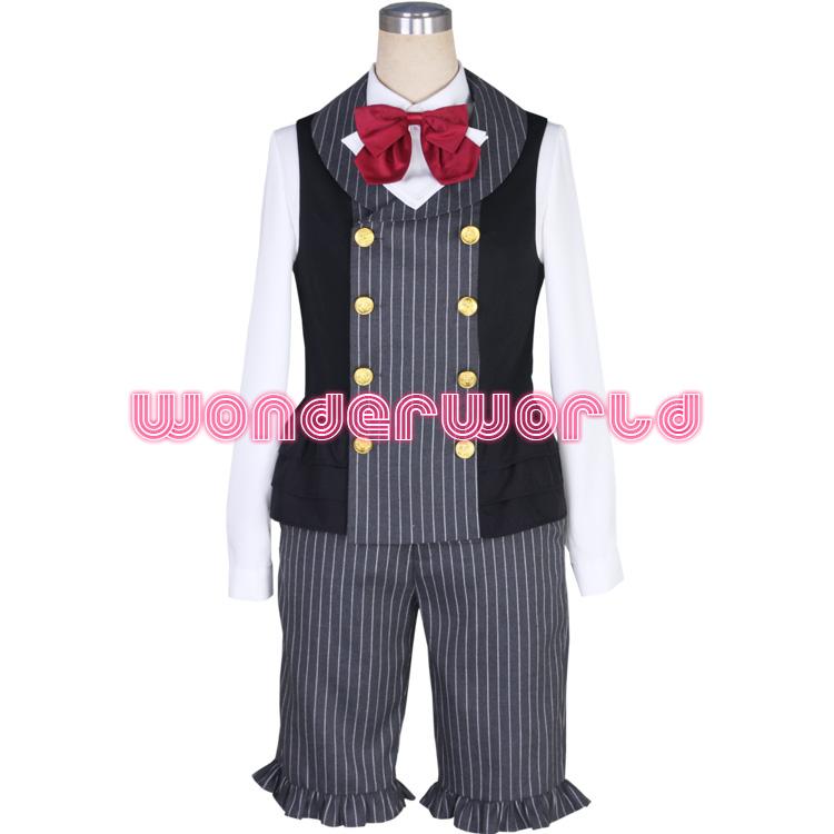 A3 瑠璃川幸 ぺろりんハートパフェ コスプレ衣装 ここみねっと製 ハロウィン 仮装 コスチューム 文化祭 イベント服