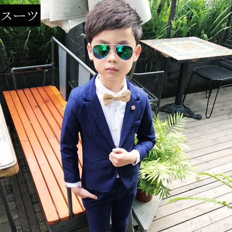 8a1238edea895 楽天市場 5点セット 男の子 子供服 フォーマル スーツ ベビー服 子供 ...