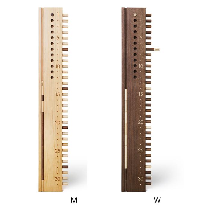 カレンダー 木製 カレンダー ウォールタイプ タテ ドリーミィーパーソン 旭川クラフト