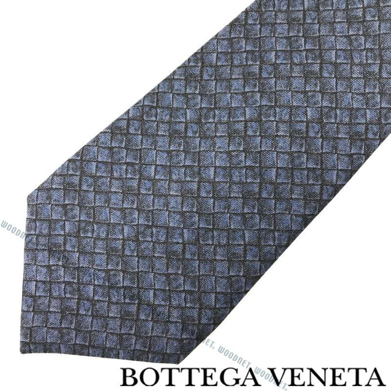 BOTTEGA VENETA ネクタイ ボッテガベネタ メンズ シルク ミッドナイトブルー 430900-4V0094060 ブランド