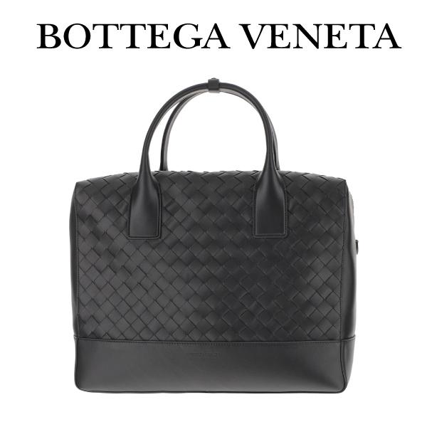 BOTTEGA VENETA ボッテガベネタ ビジネス バッグ ブリーフケース ブラック イントレチャート カーフレザー 609206vcpq18984 ブランド【イタリアからのお取り寄せ商品】【決済確認後、10日前後で発送】