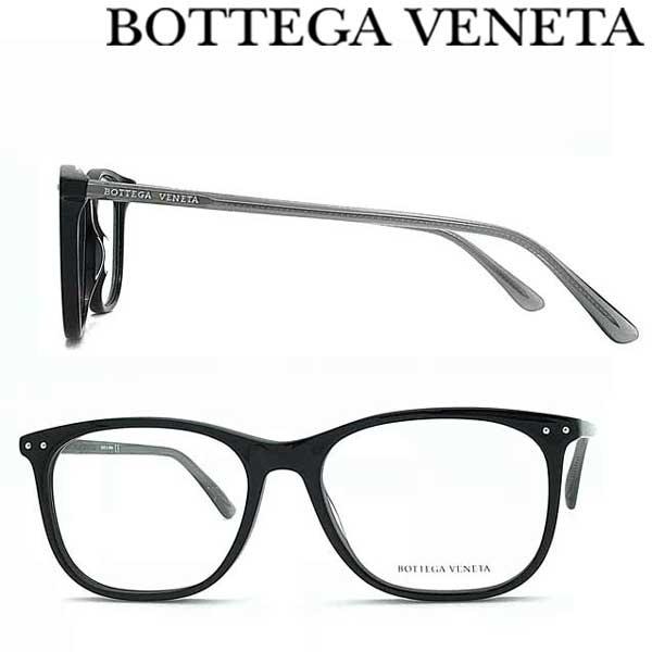 BOTTEGA VENETA メガネフレーム ボッテガヴェネタ メンズ&レディース ブラック 眼鏡 BTV-0193O-001 ブランド